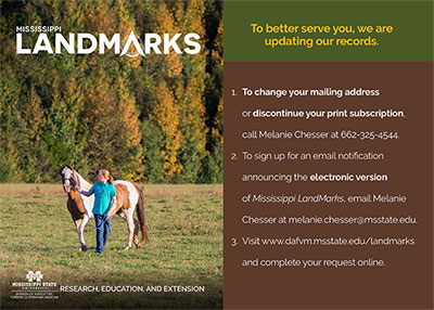 Link to the LandMarks magazine survey.