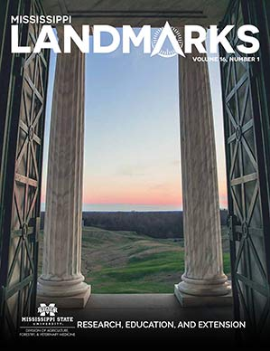 Landmarks Vol 16 No 1 cover.