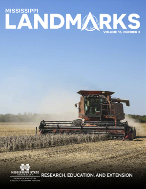 Landmarks Vol 16 No 3 cover.